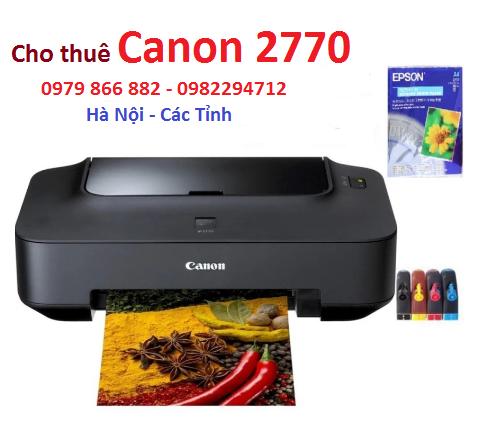 cho thuê máy in màu Canon 2770