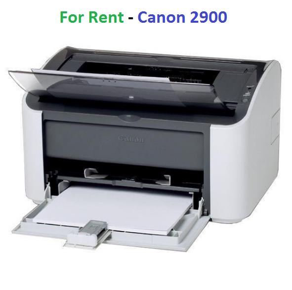 Cho thuê máy in đen trắng laser Canon 2900
