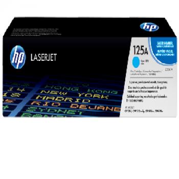 Mực in HP 125A Cyan LaserJet Toner Cartridge (CB541A)